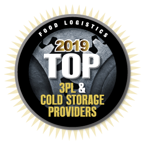 Food Logistics' 2019 Top 3PL and Cold Storage Providers